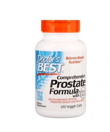 Doctor's Best Comprehensive Prostate Formula 120 Veggie Caps