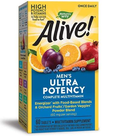 Nature's Way Alive Once Daily Men's Multi-Vitamin - 60 Tablets