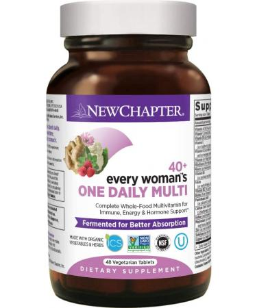 New Chapter Women's Multivitamin Every Woman's One Daily 40+ - 48 Capsules