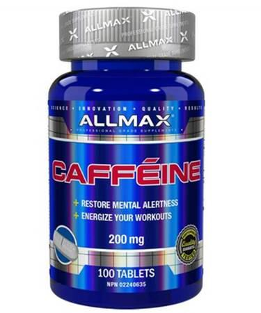 ALLMAX Nutrition Caffeine  200 mg 100 Tablets