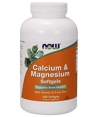 Now Foods Calcium & Magnesium with Vitamin D-3 and Zinc 240