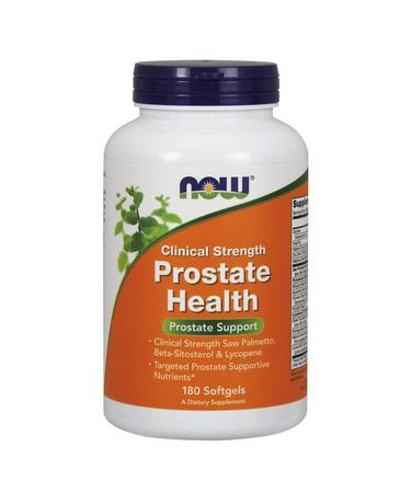 Now Foods Clinical Strength Prostate Health 180 Softgels