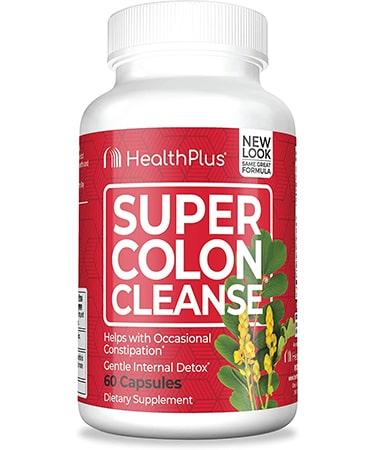 Health Plus Super Colon Cleanse - 60 Capsules