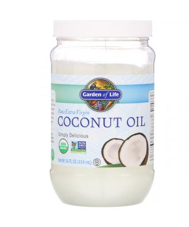 Garden of Life Raw Extra Virgin Coconut Oil 14 fl oz (414 ml)