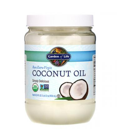 Garden of Life Raw Extra Virgin Coconut Oil 29 fl oz (858 ml)