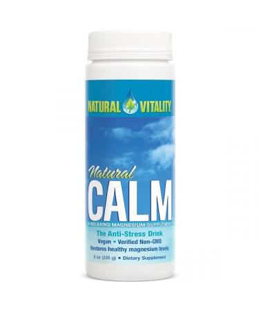 Natural Vitality Natural Calm The Anti-Stress Drink Original (Unflavored) 8 oz (226 g)