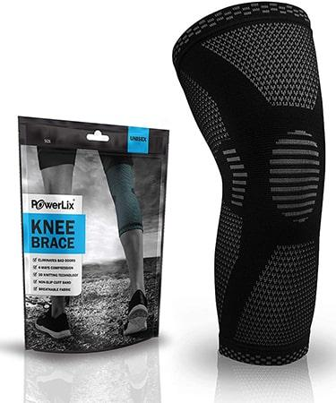 POWERLIX Knee Compression Sleeve for Men & Women