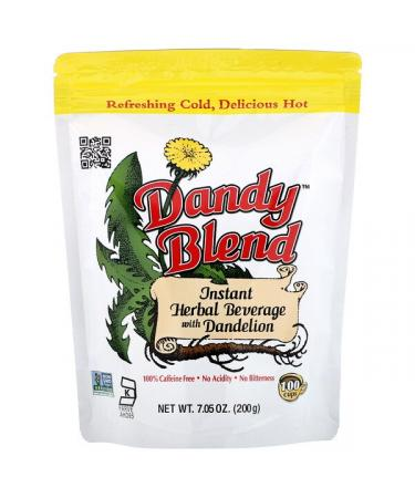 Dandy Blend Instant Herbal Beverage with Dandelion Caffeine Free 7.05 oz (200 g)