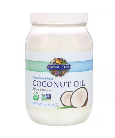 Garden of Life Raw Extra Virgin Coconut Oil 56 fl oz (1.6 l)