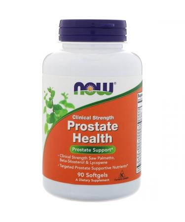 Now Foods Clinical Strength Prostate Health 90 Softgels