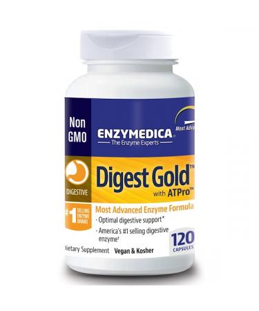 Enzymedica Digest Gold with ATPro 120 Capsules