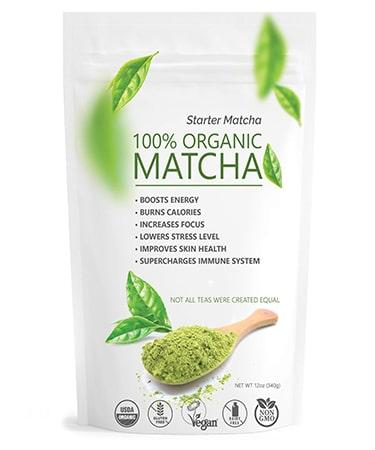 Starter Matcha  Organic Green Tea Powder - 12oz