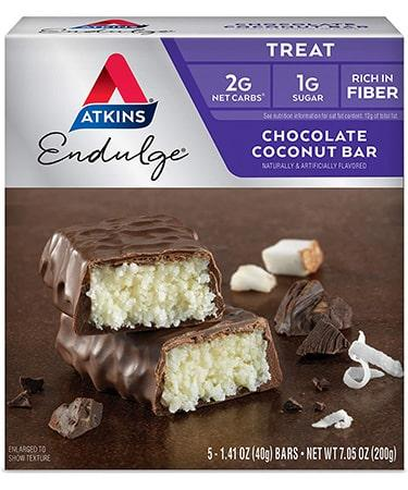 Atkins Endulge Bars