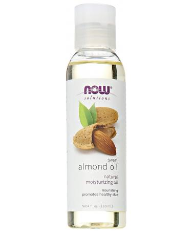 Now Foods Solutions Sweet Almond Oil 4 fl oz (118 ml)