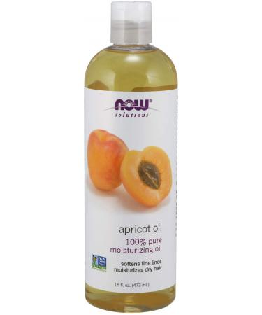 Now Foods Solutions Apricot Oil 16 fl oz (473 ml)