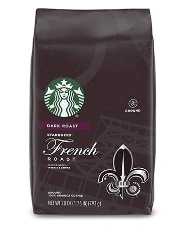 Starbucks Dark Roast Ground Coffee French Roast - 1 bag (28 oz)