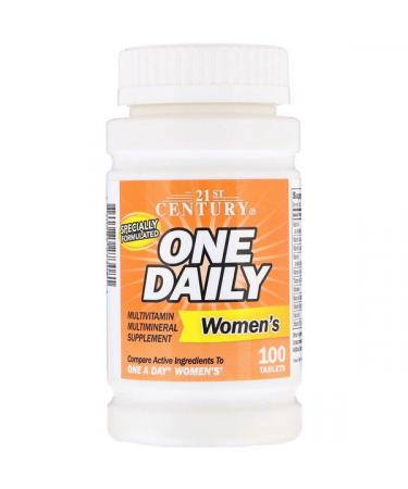 21st Century One Daily Women's 100 Tablets