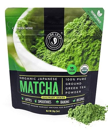 Jade Leaf Matcha Green Tea Powder - 1 OZ (30 G)