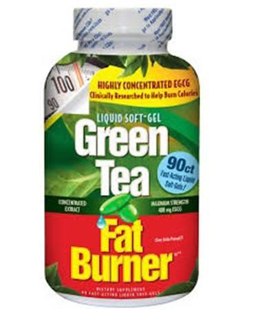 appliednutrition Green Tea Fat Burner 90 Fast-Acting Liquid Soft-Gels