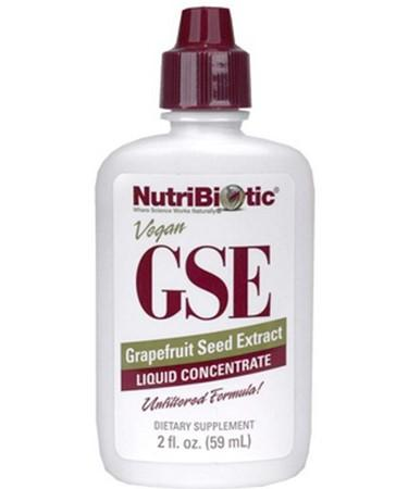 NutriBiotic GSE Grapefruit Seed Extract Liquid Concentrate 2 fl oz (59 ml)