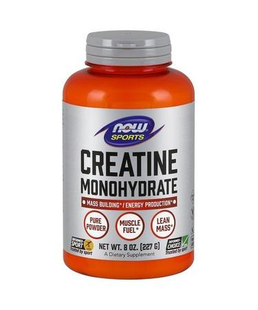 Now Foods Sports Creatine Monohydrate Pure Powder 8 oz (227 g)