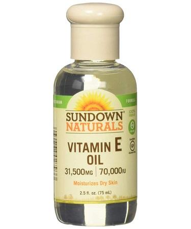 Sundown Naturals Vitamin E Oil 70000 IU - 2.5 fl oz