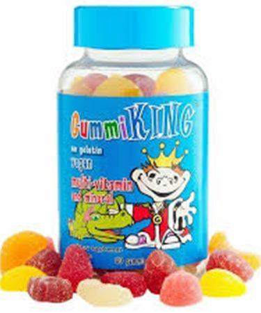 GummiKing Multi-Vitamin & Mineral For Kids 60 Gummies