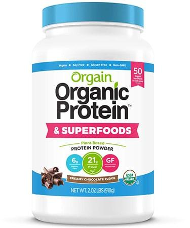 Orgain Organic Plant Based Protein Superfoods Powder