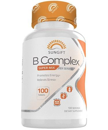 Sungift Nutrition B Complex - 100 Tablets