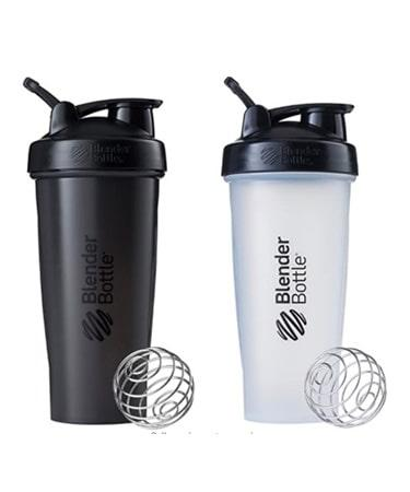 BlenderBottle Classic Loop Top Shaker Bottle 28-Ounce 2-Pack