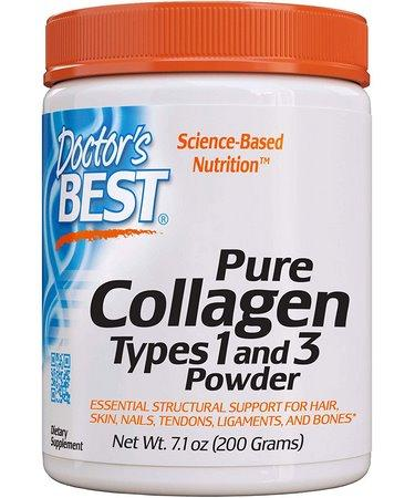 Doctor's Best Pure Collagen Types 1 and 3 Powder 7.1 oz (200 g)