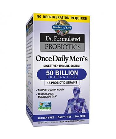 Garden of Life Once Daily Men's Probiotics - 30 Capsules