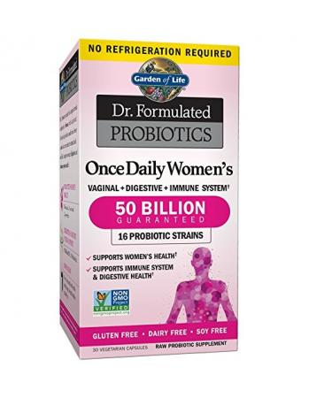 Garden of Life Once Daily Women's Probiotics - 30 Capsules
