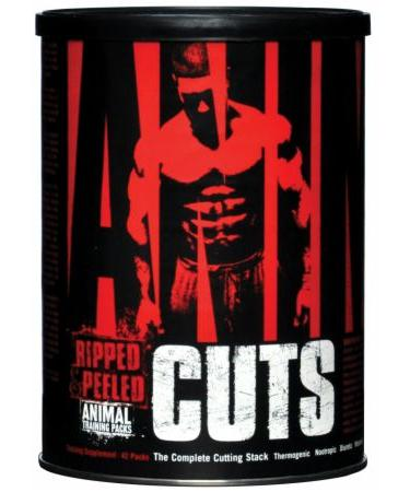 Universal Nutrition Animal Cuts - Not Flavored - 42 Packs