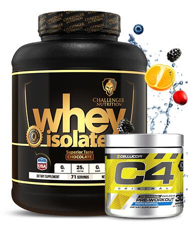 Challenger ISO - 4.4Lbs & C4 - 30 Servings