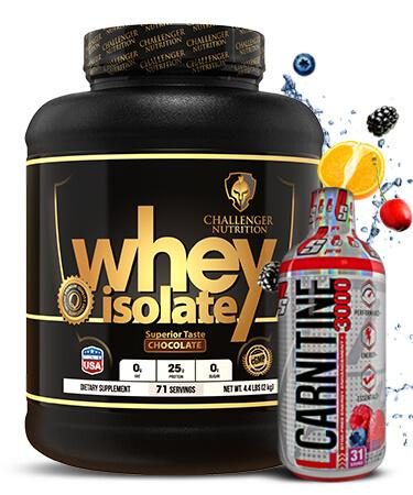 Challenger ISO - 4.4Lbs & PS L-Carnitine 3000