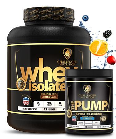 Challenger ISO - 4.4Lbs & The Pump - 30 Servings
