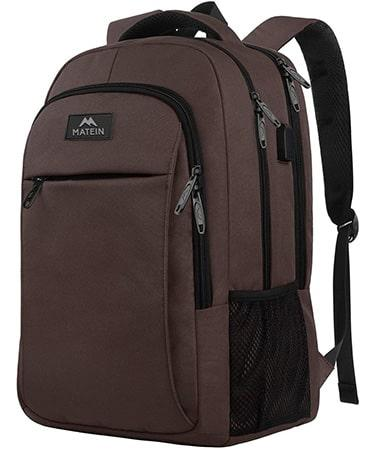 MATEIN Backpack with USB 15.6 Inch