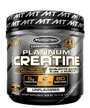 MuscleTech Essential Series Platinum Creatine - Not Flavored - 80 Servings