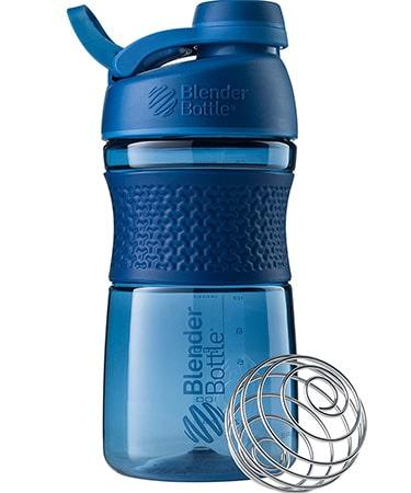BlenderBottle SportMixer Twist Cap Tritan Grip Shaker Bottle - 20 Ounce