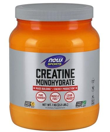 Now Foods Sports Creatine Monohydrate Pure Powder 2.2 Lbs. (1 kg)