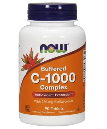 Now Foods Buffered C-1000 - 90 Tablets