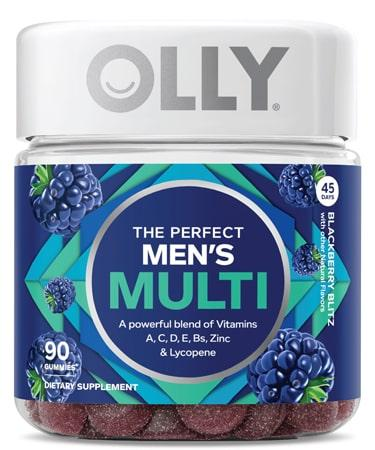 Olly The Perfect Men's Multi Vitamin Gummies with Lycopene - 90 Gummies