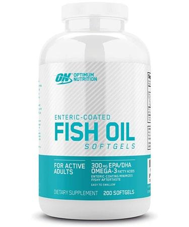 Optimum Nutrition Fish Oil Softgels