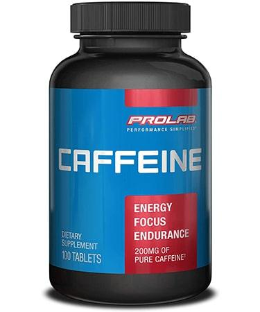 Prolab Caffeine - Not Flavored - 100 Tablets