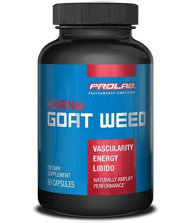 Prolab Horny Goat Weed - Not Flavored - 60 Capsules