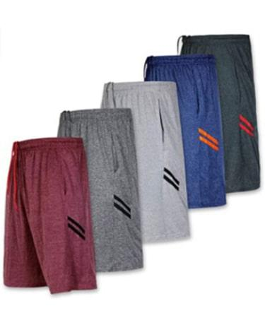Real Essentials Men's Dry-Fit Sweat Resistant Active Athletic