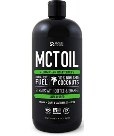 Sports Research MCT Oil - 32oz