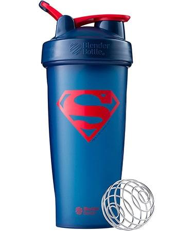 BlenderBottle Justice League Shaker Bottle Classic V1 28 Oz