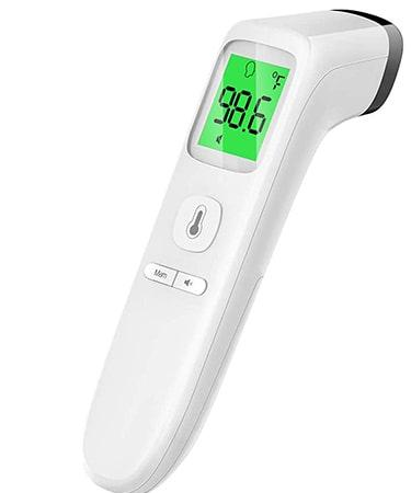 GoodBaby Touchless Thermometer Forehead with Fever Alarm and Memory Function